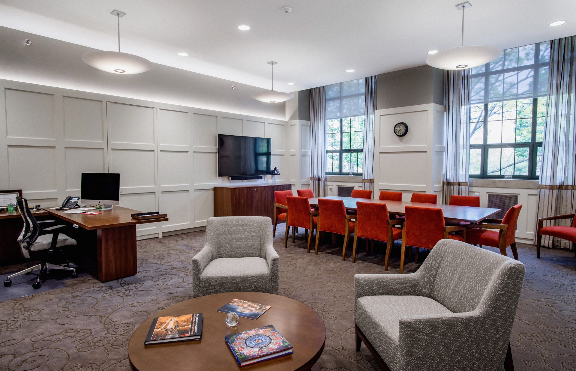 Boston University Deans Suite Chapman Construction
