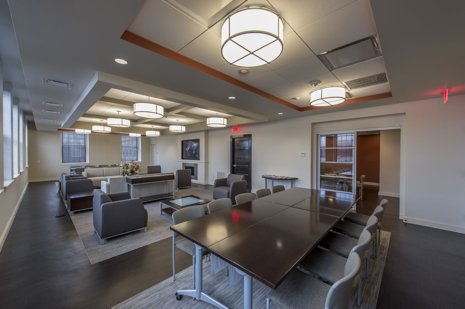 Boston College Faculty Lounge Chapman Construction
