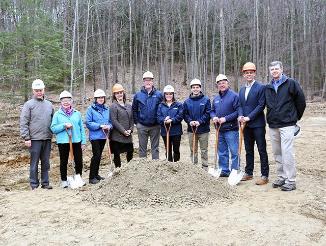 Madbury Team Breaks Ground on New Library